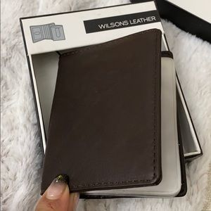 Wilson leather organizer wallet